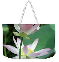 Beautiful Lotus Blooming Weekender Tote Bag
