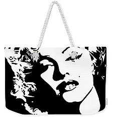 Beautiful Marilyn Monroe Original Acrylic Painting Weekender Tote Bag