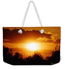 Weekender Tote Bag featuring the photograph Beautiful Moment In Bakersfield by Meghan at FireBonnet Art