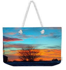 Beautiful Mornin' Panorama Weekender Tote Bag