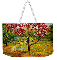Beautiful Park Weekender Tote Bag