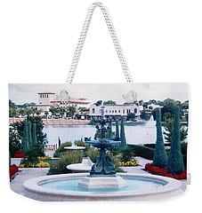 Weekender Tote Bag featuring the photograph Beautiful Park In Lakeland by Belinda Lee