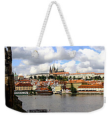 Weekender Tote Bag featuring the photograph Beautiful Prague by Ira Shander