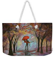 Beautiful Romance Weekender Tote Bag