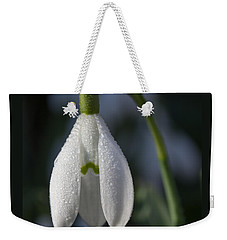 Beautiful Snowdrop Weekender Tote Bag