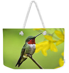 Beautiful Summer Hummer Weekender Tote Bag
