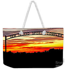 Beautiful Sunset And Emmett Sport Comples Weekender Tote Bag by Robert Bales