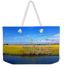 Beautiful View Topsail Island Weekender Tote Bag
