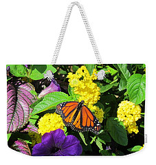 Weekender Tote Bag featuring the photograph Beauty All Around by Cynthia Guinn