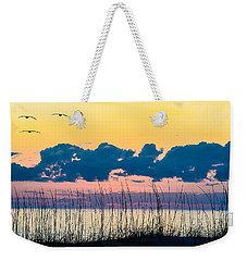 Beauty And The Birds Weekender Tote Bag