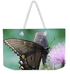 Beauty And Thistle Weekender Tote Bag