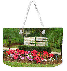 Beauty At Pelican Cove Weekender Tote Bag