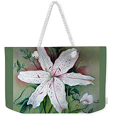 Beauty For Ashes Weekender Tote Bag by Hazel Holland