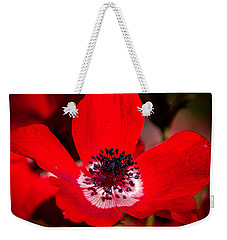 Beauty In Red Weekender Tote Bag