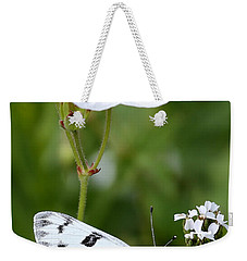 Beauty In White Weekender Tote Bag
