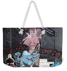 Beauty Inside Not A Bottle Weekender Tote Bag
