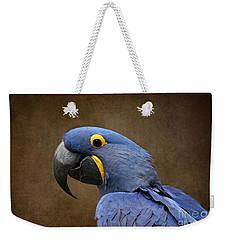 Beauty Is An Enchanted Soul - Hyacinth Macaw - Anodorhynchus Hyacinthinus Weekender Tote Bag