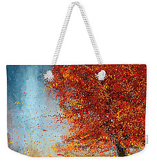 Beauty Of It- Autumn Impressionism Weekender Tote Bag