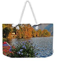Beauty Of Lake Lugano Weekender Tote Bag