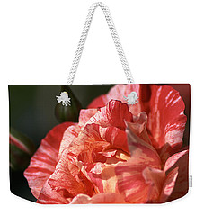 Weekender Tote Bag featuring the photograph Beauty Of Rose by Joy Watson