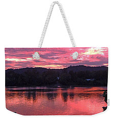Beauty On The Ohio Weekender Tote Bag