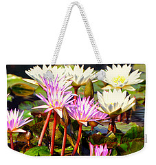 Weekender Tote Bag featuring the photograph Beauty On The Water by Marty Koch