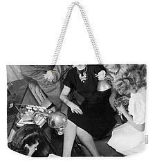 Beauty Salon Glamorizing Weekender Tote Bag