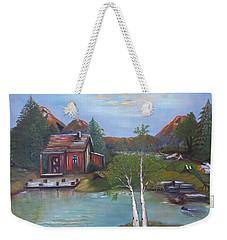 Beaver Pond - Mary Krupa Weekender Tote Bag