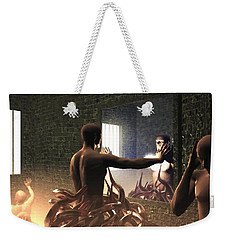 Becoming Disturbed Weekender Tote Bag by John Alexander