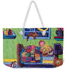 Bedtime Mouse Weekender Tote Bag