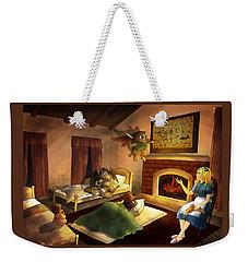 Bedtime Weekender Tote Bag
