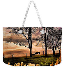 Bedtime Snackin Weekender Tote Bag by Robert McCubbin