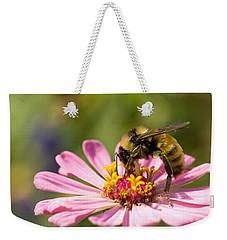 Bee At Work Weekender Tote Bag