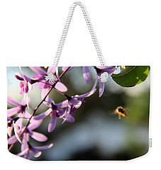 Bee Back Weekender Tote Bag