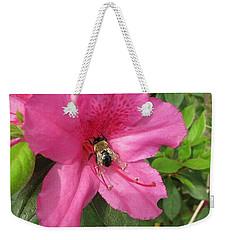 Bee Cause Weekender Tote Bag by Deborah Lacoste