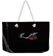 Weekender Tote Bag featuring the digital art Beep Beep by Chris Thomas