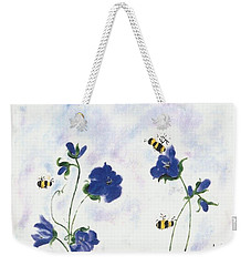 Bees At Lunch Time Weekender Tote Bag