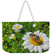 Honey Bee Pollination Services Weekender Tote Bag by Maciek Froncisz