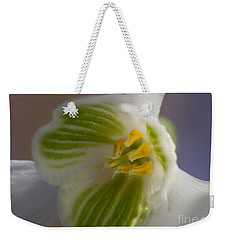 Bee's View Of A Snowdrop Weekender Tote Bag