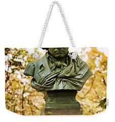 Beethoven In Central Park Weekender Tote Bag
