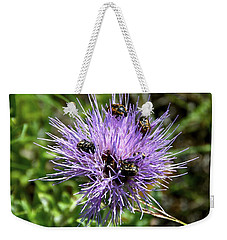 Weekender Tote Bag featuring the photograph Beetlemania by Dee Dee  Whittle