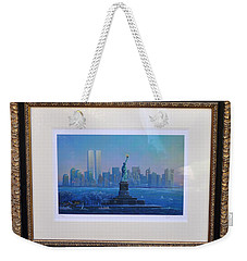 Weekender Tote Bag featuring the photograph Before Nine Eleven by Jay Milo