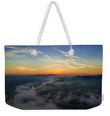 Before Sunrise On The Lilienstein Weekender Tote Bag