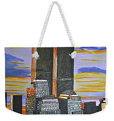 Before The Fall Weekender Tote Bag by Donna Blossom