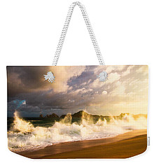 Weekender Tote Bag featuring the photograph Before The Storm by Eti Reid