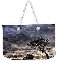 Nova Scotia's Lonely Tree Before The Storm  Weekender Tote Bag