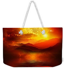 Before The Sun Goes To Sleep Weekender Tote Bag