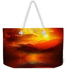 Before The Sun Goes To Sleep Weekender Tote Bag by Gabriella Weninger - David