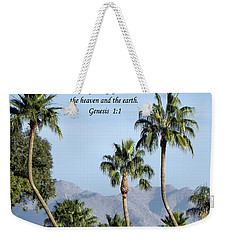 Weekender Tote Bag featuring the photograph Beginning by Deb Halloran