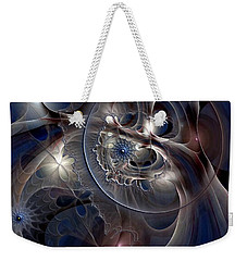 Weekender Tote Bag featuring the digital art Beguiled At Twilight by Casey Kotas